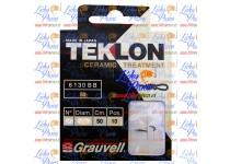 CARTERA ANZUELO GV 6130-BB, Nº20, D-SEDAL 0,10mm. TEKLON, 10 ANZUELOS.