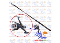 EQUIPO LINEAEFFE OXYGEN 270 CARBONO + CARRETE JADE-LINE RD M20 JP