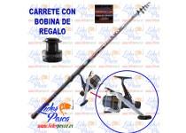 EQUIPO LINEAEFFE DELTA ANILL GHIERA400 +CARRETE MATCH  MIS30 JP