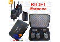KIT 3 INDICADORES DE PICADA ELECTRONICOS (ALARMAS) MAS RECEPTOR SIN CABLE PROWESS STELLAR KIT 3+1