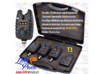 KIT 3 INDICADORES DE PICADA ELECTRONICOS (ALARMAS) T3 VORTEKS
