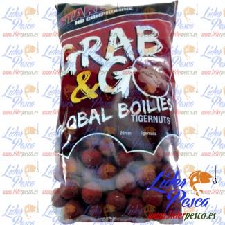 BOILIES STAR BAIT GRAB & GO TIGERNUT 20mm.