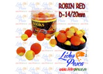 BOILIES POISSON FENAG POP UPS FLURO ROBIN RED, 14/20mm. 200ml.