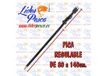 PICA TELESCOPICA VORTEKS ALUMINIO 80-140 cm.