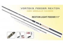 CAÑA FEEDER REXTON LIGHT 11 VORTEKS GRAUVELL 120215