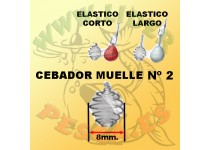 MUELLE CEBADOR N2, MASILLA Bolsa 5 unidades STONFO