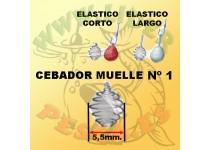 MUELLE CEBADOR N1, MASILLA Bolsa 5 unidades STONFO
